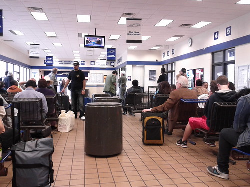 Greyhound Station in Austin, Texas