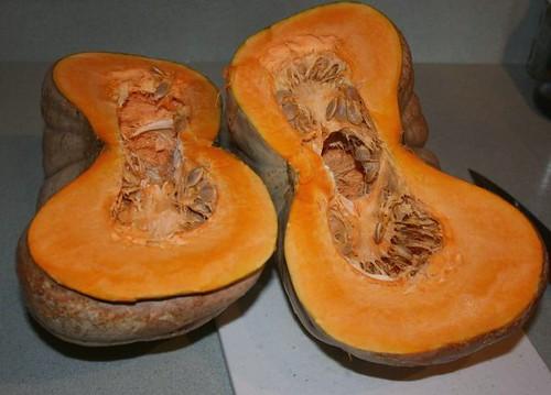 Cut Jarrahdale Pumpkin
