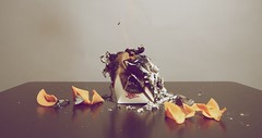 11/52 (diegodiazphotography) Tags: chinesefood flames burning tragedy fortunecookies wtf idontknow burnbabyburn