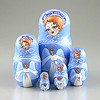 Blue Angel Nesting Doll (The Russian Store) Tags: trs matrioshka matryoshka russiannestingdolls кукла stackingdoll русская russianstore матрешка russiangifts русскиймагазин russiancollectibledolls shoprussian русскиеигрушки русскиеподарки русскиесувениры