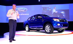 Ford Ranger ASEAN debut (Ford Asia Pacific) Tags: auto ford car truck indonesia thailand design media ranger day bangkok stage philippines engineering pickup autoshow automotive vietnam event speaker vehicle launch fleet press speech asean employee reveal speeches motorshow dealer unveil executives doublecab blueoval joehinrichs