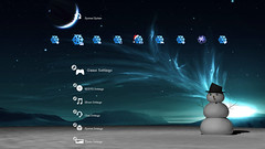 Free Holiday PS3 Theme