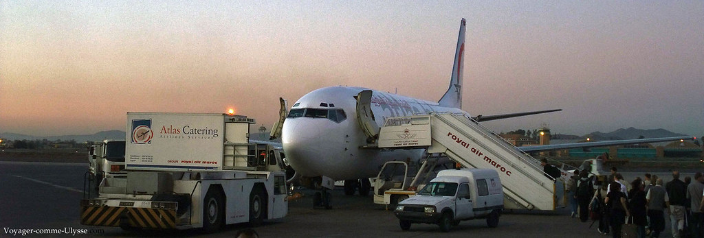 Un avion de Royal Air Maroc, la compagnie nationale
