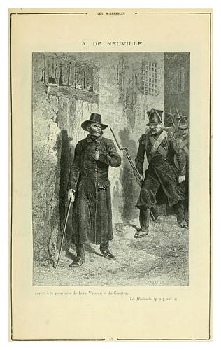 004-Los miserables-Cent dessins  extraits des oeuvres de Victor Hugo  album specimen (1800)