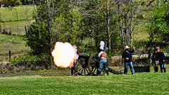 Cannon Fire at Janney