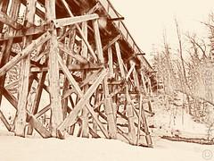 Pont de bois (ManticorePhoto) Tags: ca 3 canada apple canon aperture edmonton ab powershot alberta software nik luc g11 manticore therrien 66669