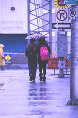 April Showers... And All That Jazz (flashfix) Tags: april082014 2014 2014inphotos 18mm135mm ottawa ontario canada canon 60d canaon60d rainyday downtown candid couple people steetphotography construction umbrella rain signs streetsigns downtownottawa backpack leggings wet grayday springweather aprilshowersandallthat flashfix flashfixphotography
