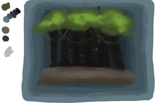 "Speedpaint - ""Trapped/Jungle"""