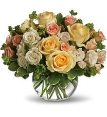 "#12ED $125 (as shown) Spray Roses Vased. • <a style=""font-size:0.8em;"" href=""http://www.flickr.com/photos/39372067@N08/5551599969/"" target=""_blank"">View on Flickr</a>"