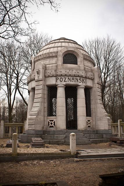 mauzoleum Izraela Poznańskiego