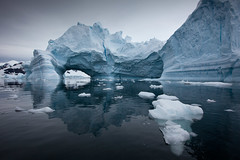 Cathedral Iceberg #1 (uncle_shoggoth) Tags: ocean blue reflection ice expedition water harbor paradise antarctica iceberg zodiac quark sergei potofgold supershot explored paradiseharbor canonblue vavilov akademic flickraward flickrchallengegroup flickrchallengewinner beautifulworldchallenges flickraward5 akademicsergeivavilov