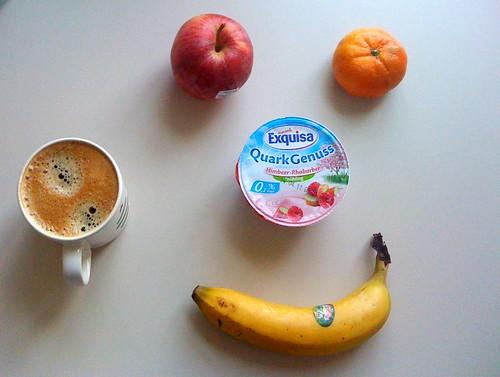 Quark Genuss, Clementine, Banane & Royal Gala