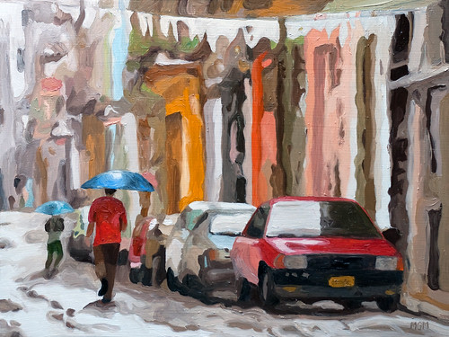Havana Rain by Michael Mitchener