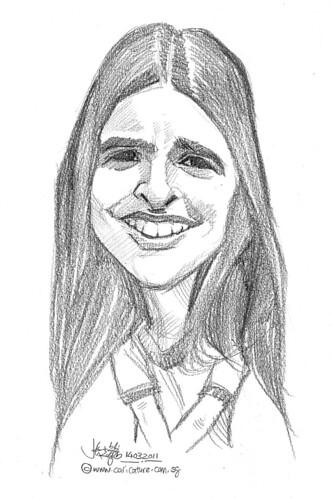 caricature in pencil - 9