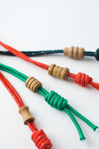 Lanyards and lathed beads