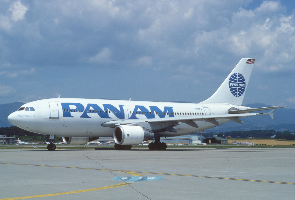 Pan Am Airbus A310-324ET; N814PA, July 1 by Aero Icarus, on Flickr