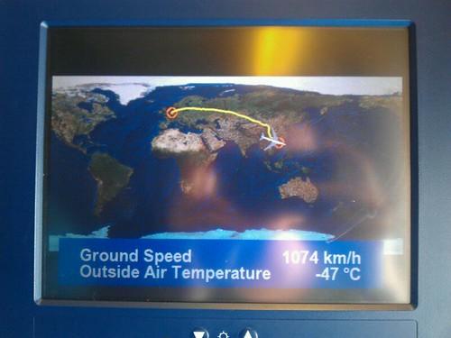 1074 km/h!