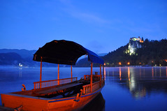 Bled View Early morning (Atilla2008) Tags: blue castle beautiful boat slovenia bled bluehour glassy glacial lakebled julianalps mygearandme mygearandmepremium mygearandmebronze mygearandmesilver mygearandmegold mygearandmeplatinum mygearandmediamond flickrstruereflection1