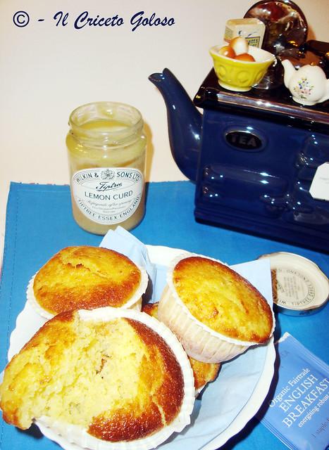 Muffins al lemon curd