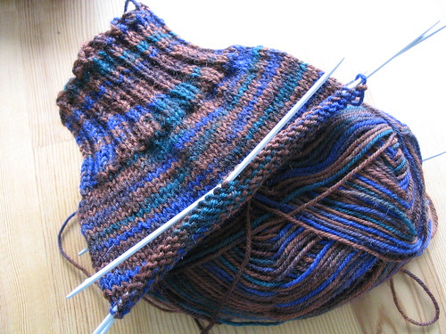 More Regia Socks WIP