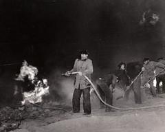 Malibu Canyon Fire circa 1940s