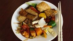 Lunch At Vegan Buffet
