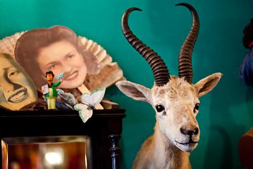 Masks, goat