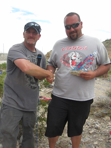 Brain Parker presents Tom Swanson with Third Place at RECON G6 CHALLENGE Gamblers Paradise Presented By Axial Las Vegas Nevada April 2nd, 2011