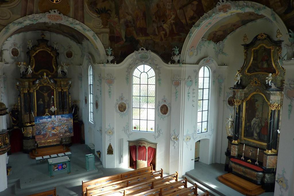 In der Kirche Bernhardzell