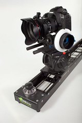 Redrock slider rig (redrockmicro) Tags: canon slider kessler redrockmicro hdslr cineslider righttpwwwredrockmicrocomhttpwwwkesslercranecom