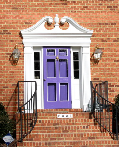 Colorful Front Door