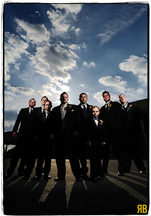Don't Mess With These Groomsmen