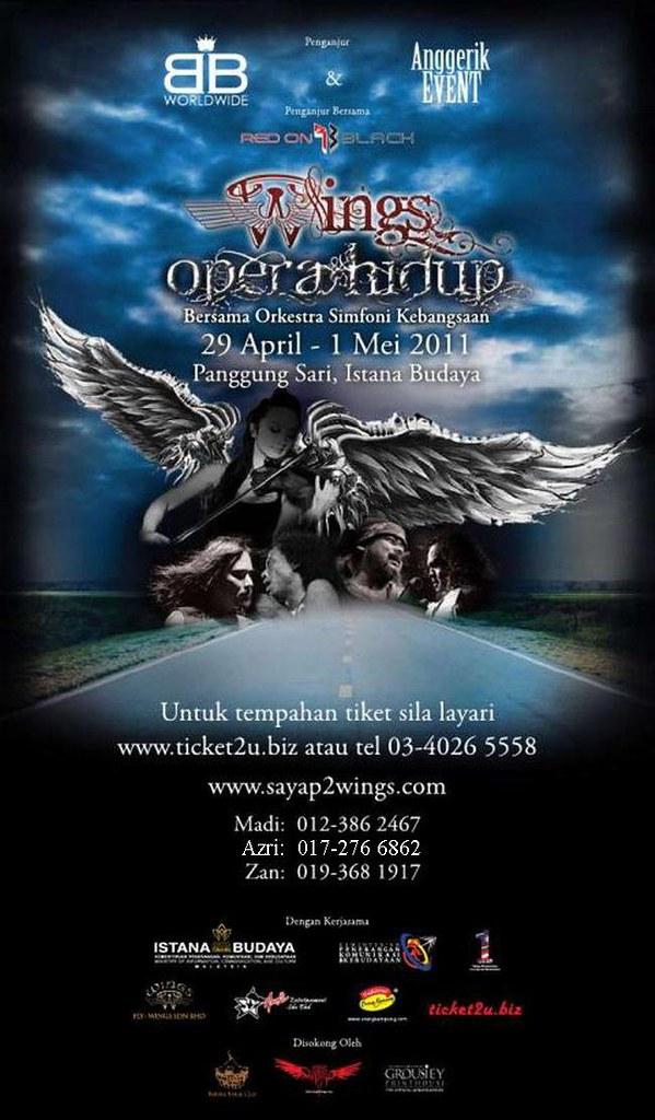 konsert wings opera hidup