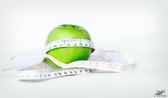 Dieting (AHMAD AL-ABDAN   ) Tags: camera macro green apple speed canon eos 50mm for al healthy exposure flickr taken iso health be safe 1855 ahmad simple ahmed edit ask nasser d500 2010 | dieting 500d  abdan 2011 ||              amendo   alabdan