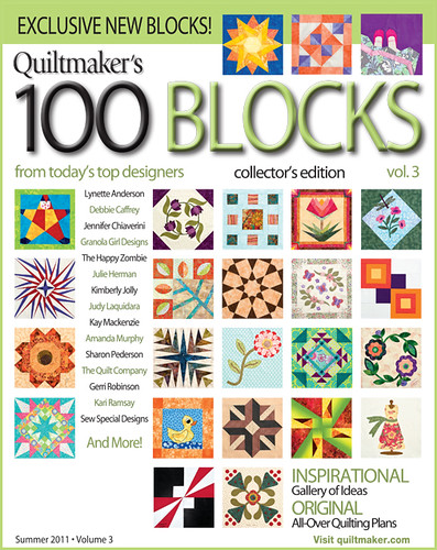 Quiltmaker 100 Blocks Volume 3
