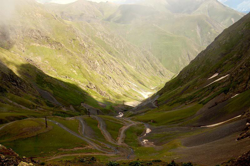 near Abano-Pass