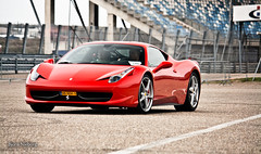 Four-Five-Eight! >10.000+ views!!! (BjornNieborg) Tags: netherlands italia ferrari zandvoort fcn 458 55250 canoneos1000d