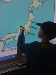 Labeling Japan Map by Dowbiggin
