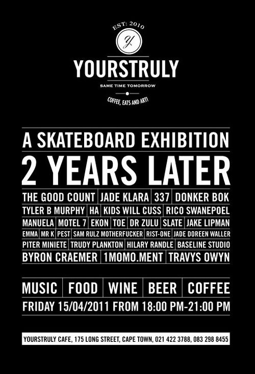 2 YEARS LATER SKATEBOARD EXHIBITION