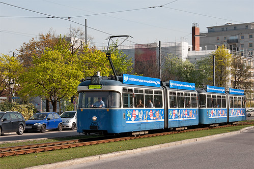 P-Wagen 2010 auf Abwegen: In einigen Augenblicken erreicht die Linie 27 den Scheidplatz