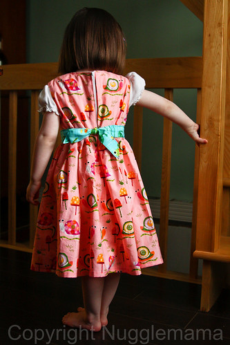 Back of Easter Dress