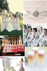 peach-apricot-vintage-wedding-theme