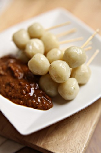 (Indonesian Food) Cilok - Chewy Balls