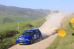 Subaru Impreza sti (claudio.santucci) Tags: rally wrc subaru aprile toscana colline imprezawrx polvere trofeo sterrato valdicecina liburna trofeoterra