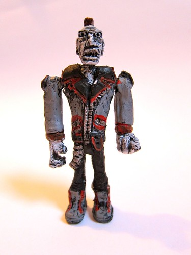 Punk Rock Figure by Luke Gibbons-Reich by Making Deals Zine