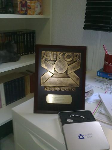 Recuerdo del Colegio Alkor