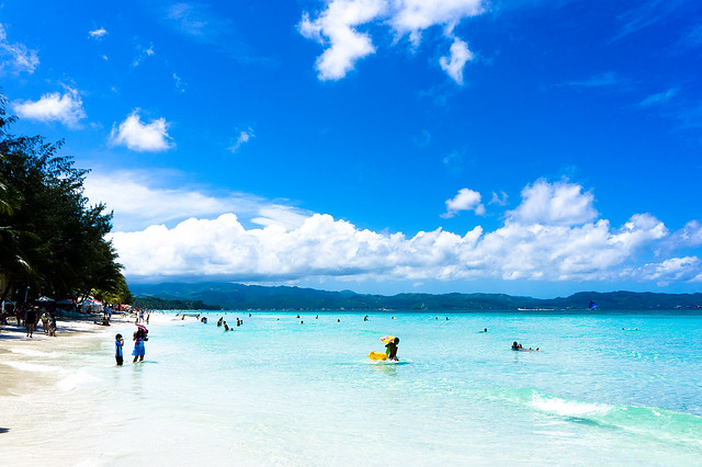 [Travel] White Beach in Boracay - 白沙長灘島