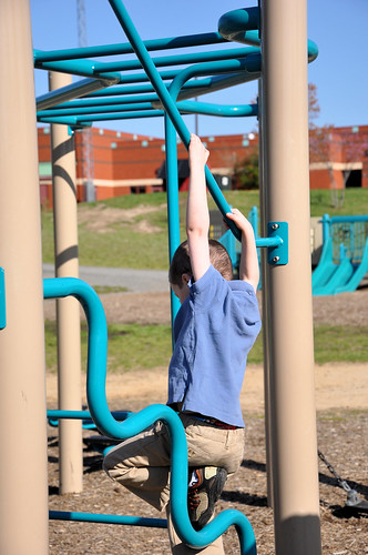 playground c monkey bars