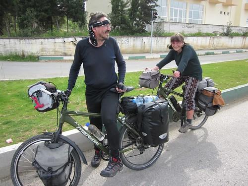 A Czech couple touring