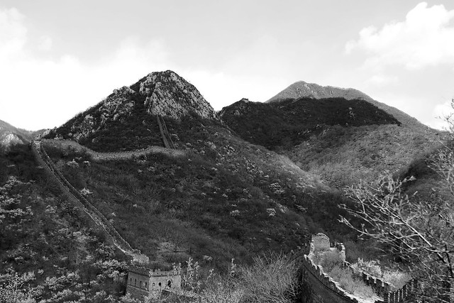 Great Wall in Sanchacun